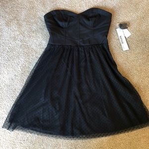 Kensie tulle mini dress